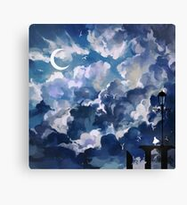the sky-wanderer. Canvas Print