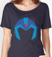 Mega Man X Helmet T Women's Relaxed Fit T-Shirt