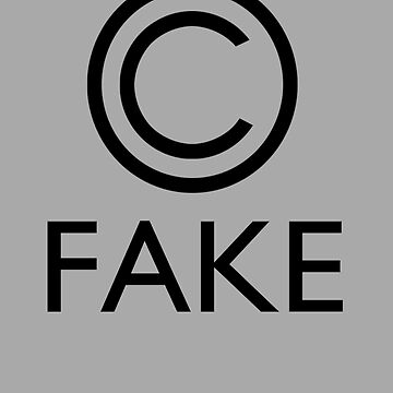 """Fake Copyright"" by rodrattle"