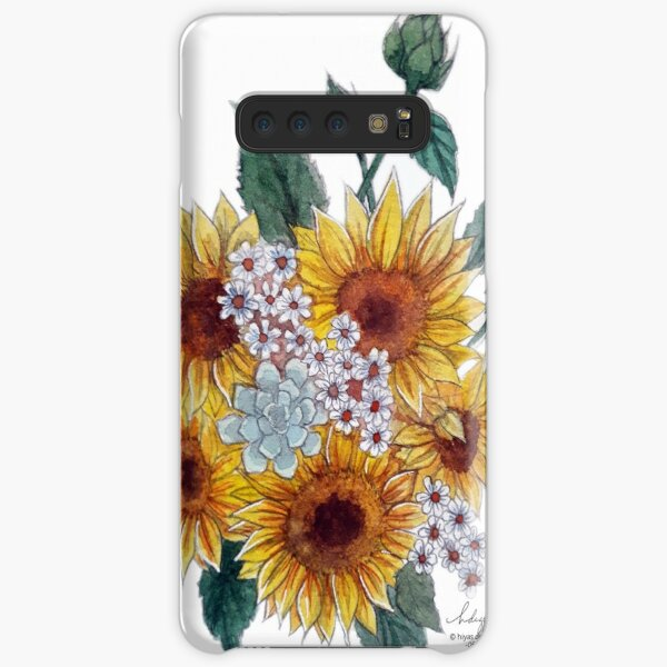 Sunflower bouquet Samsung Galaxy Snap Case