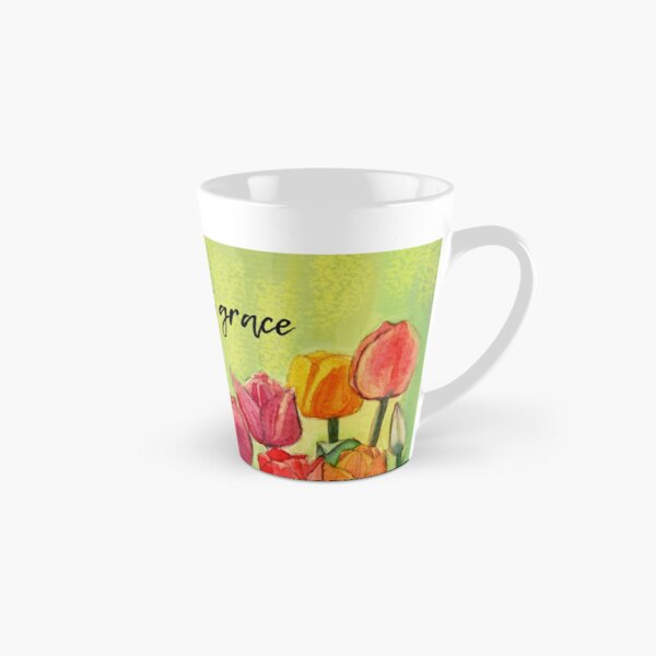 Grow with grace Tall Mug