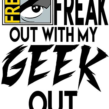 Comic-Con: Time to FREAK out with my GEEK out.  by NightwingDing