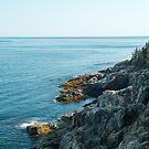 Ocean Cliffs – Acadia National Park, Maine by Jason Heritage