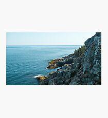 Ocean Cliffs – Acadia National Park, Maine Photographic Print