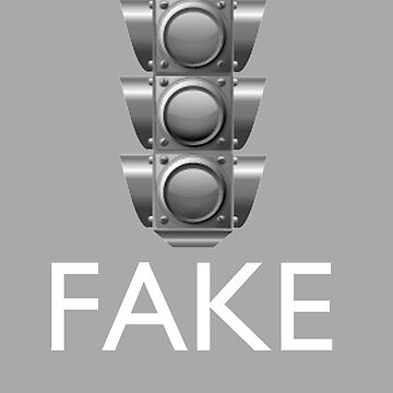 """traffic sign Fake"" by rodrattle"