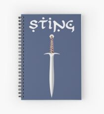Sting Spiral Notebook