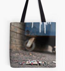 Homeless Family  Tote Bag
