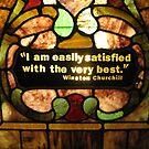Glass Wisdom by Sarah Trent