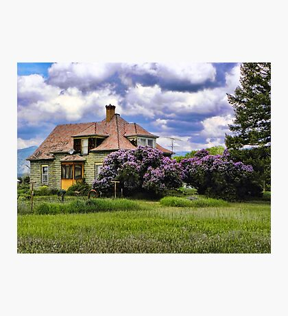 Plains Pioneer Home Photographic Print