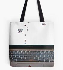 Overwelming Computer  Tote Bag