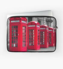 Telephone booths Laptop Sleeve