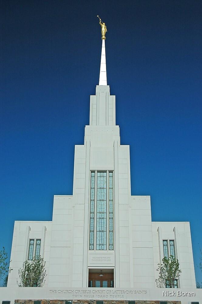 Twin Falls Idaho LDS Temple 1 by Nick Boren