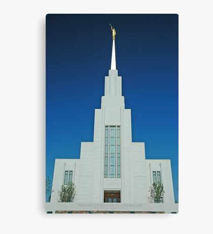 Twin Falls Idaho LDS Temple 1 Canvas Print