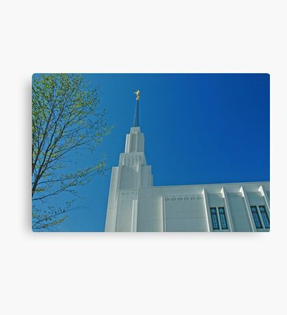 Twin Falls Idaho LDS Temple 2 Canvas Print
