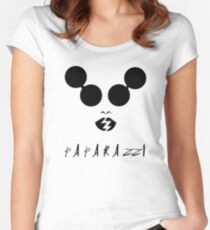 Lady Gaga - Paparazzi Women's Fitted Scoop T-Shirt