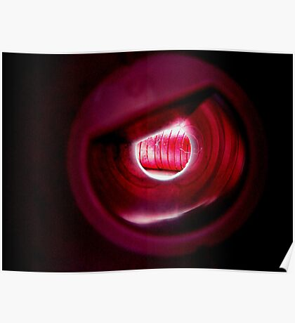 Abstract Red and Pink Poster