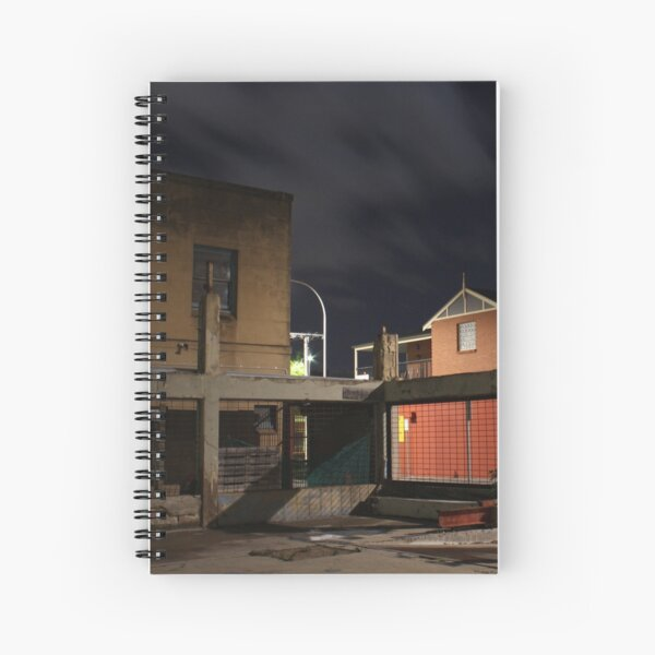 Buildings Old and New Spiral Notebook