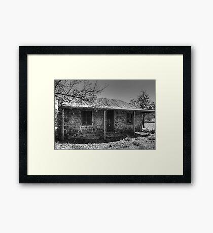 Miners Cottage- Hill End Framed Print