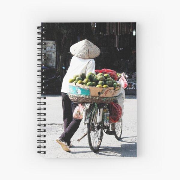 Vendor, Vietnam Spiral Notebook