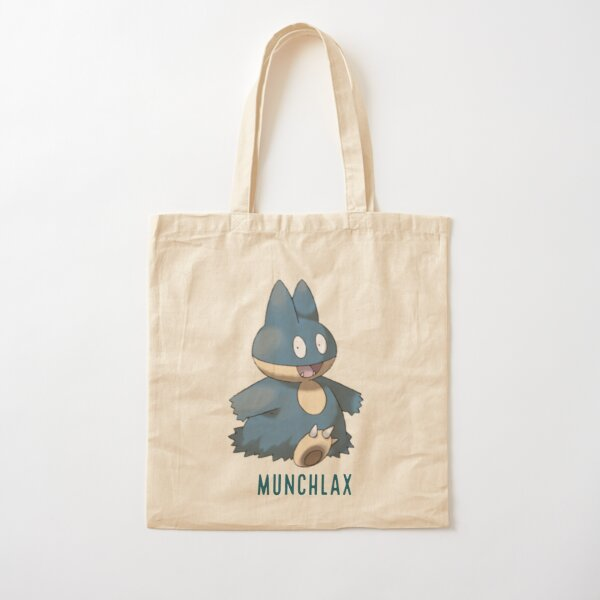 Munchlax  Cotton Tote Bag