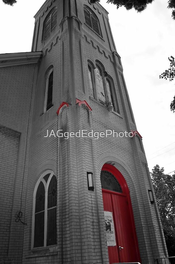 Color Splash Church by JAGgedEdgePhoto