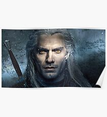 Henry Cavill The Witcher Netflix Poster Poster