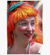 Portraits from The 2011 Coney Island Mermaid Parade-7  Poster