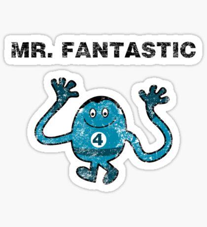 Mr Fantastic Sticker