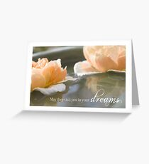 May They Visit You In Your Dreams Greeting Card