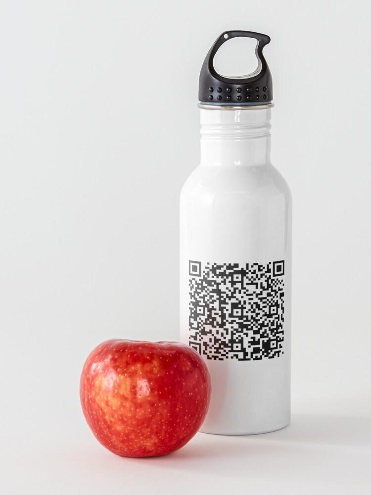 Alternate view of EICAR AV Test String QR Code Water Bottle