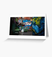 Croft Alley Greeting Card