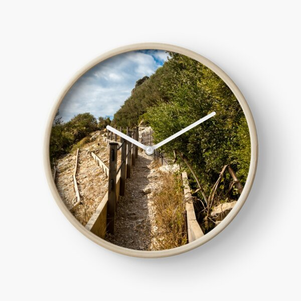 Footpath on the Rock of Gibraltar Clock