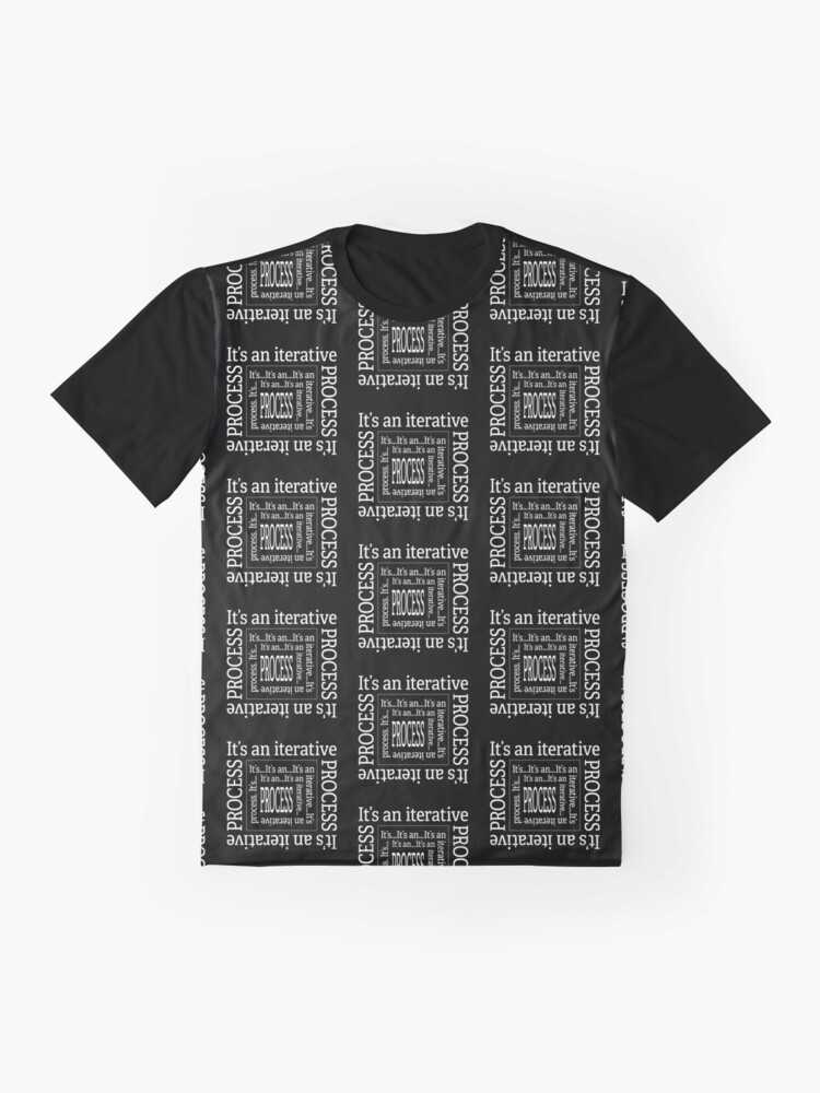 Alternate view of Iterative Process. Graphic T-Shirt