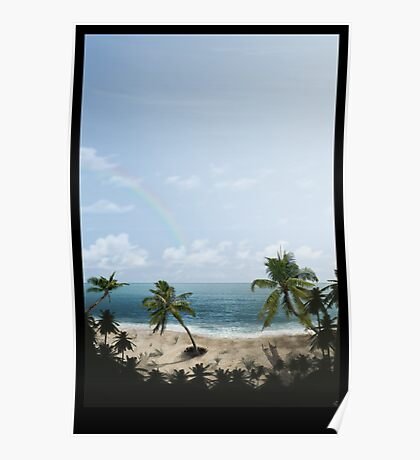 Palm Beach by Day Poster