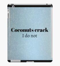 Cracking Coconuts iPad Case/Skin