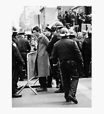 """""""Protester"""" Photographic Print"""