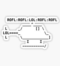 ROFLcopter Sticker