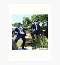 The Blues Brothers, Frozen In Time  Art Print