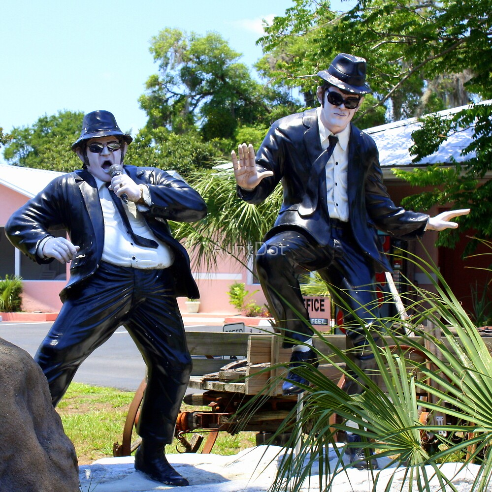 The Blues Brothers, Frozen In Time  by AuntDot
