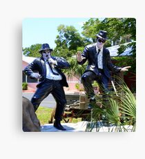 The Blues Brothers, Frozen In Time  Canvas Print