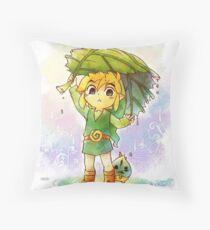 Link & Makar  Throw Pillow