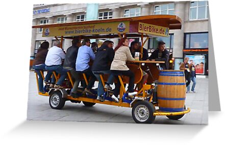 The Beer Bike. by Lilian Marshall