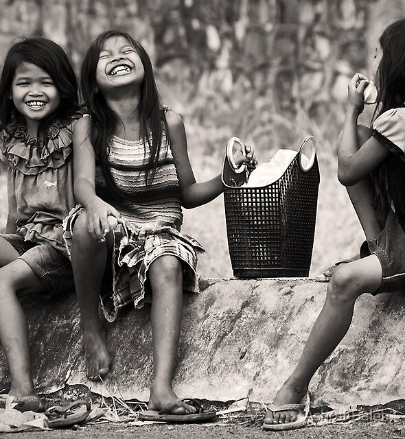 Laugh, Anytime Anywhere by Ashraf Saleh