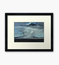 Extreme Weather Framed Print