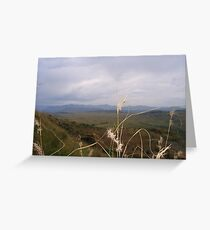 My beautiful country! Greeting Card