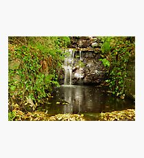 Tumbling water Photographic Print