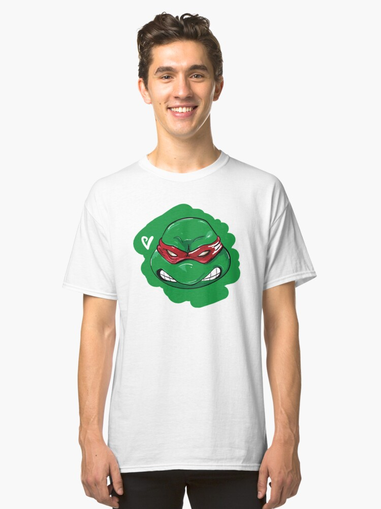 Alternate view of Raph Artwork Classic T-Shirt