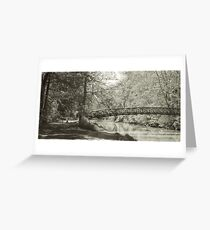 Along the Tow Path Trail Greeting Card