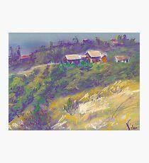 Neighbors (pastel) Photographic Print