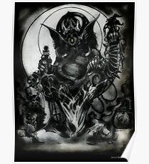 Ganesha by Jesse Lindsay 2011 Poster